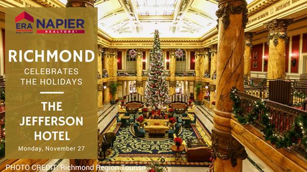 Richmond Celebrates The Holidays At The Jefferson Hotel